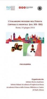 13. Poster 10 giu 2016 l italianismo